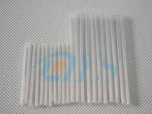 Single 45mm / 60mm  Fiber Optic Splice Sleeves , Stainless Steel Rod Splice Sleeve