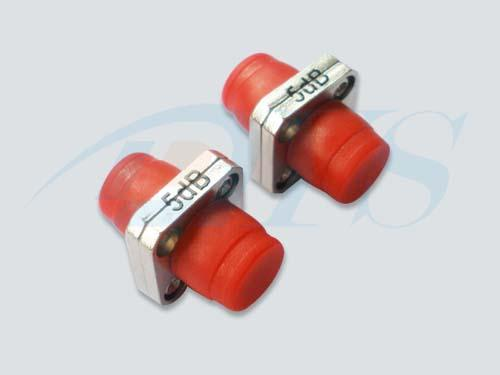 300Mw Optical Power FC Red Fiber Optic Attenuator For CATV Systems