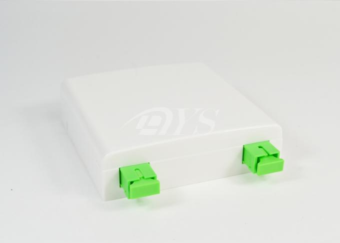 Mini Fiber Optic Terminal Box FTTH Plastic For Local Area Networks