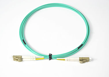 LC-LC Duplex Configuration Singlemode Optical Fiber Patch Cord With ANSI, IEC Standards