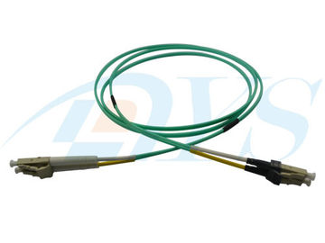 Mini LC - LC Jumper Optical Fiber Patch Cord 50 / 125 OM3 Multimode for LC Connector