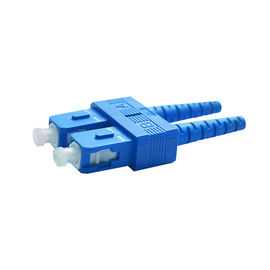 Singlemode SC UPC Fiber Optics Connectors For High Back Reflection Loss Value