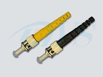 ST 3.0mm PC / UPC Polishing Singlemode Optical Fiber Connectors For Telecommunication Networks