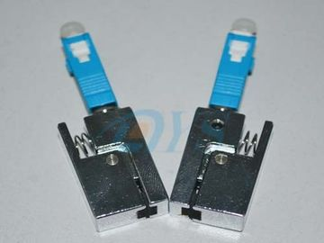 Receptacle Type Bare Fiber Optic Adapter SC , High Stability