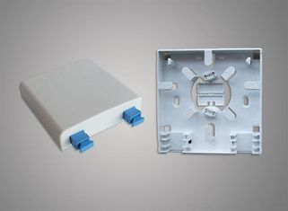 Mechanical Protection FTTH Mini 2 Core Fiber Optic Terminal Box