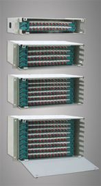 Stainless Steel ABS Fiber Optic Odf 96 Ports FC / SC / ST / LC for Wide Area Networks