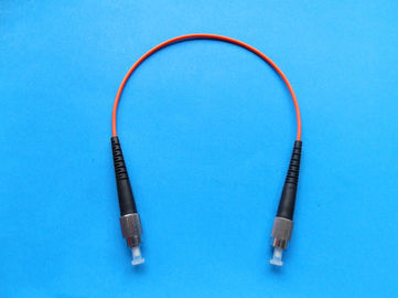 Good Echangeability And Durability LANS Optic Fiber Patch Cord For Data Processing Network