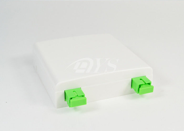 Mini Fiber Optic Terminal Box FTTH Plastic For Local Area Networks تامین کننده