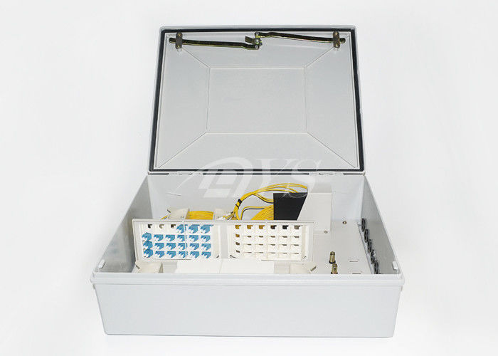 چین FTTH-012 terminal box, wall mounted, assembly 1x8,1x16, 1x32 splitter تامین کننده