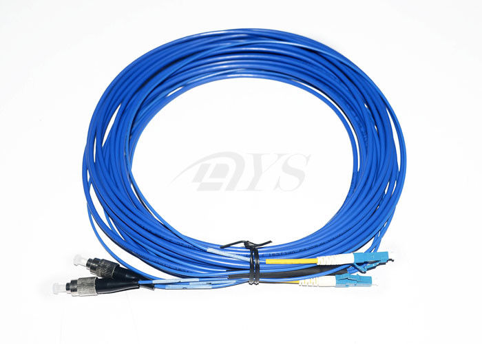FC - LC Duplex Optical Fiber Patch Cord For Local Area Networks Duplex Optical Fiber Patch Cord For Local Area Networks تامین کننده