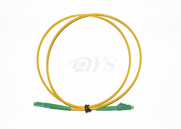 چین Corning Optical Fiber Patch Cord LC / APC-LC / APC , Low Insertion Loss & PDL تامین کننده