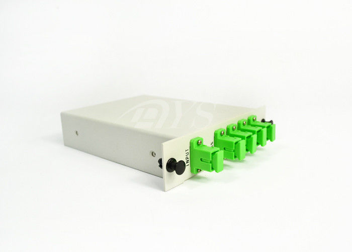 چین LGX 1260~1650nm, 1*4  PLC ptical Fiber Splitter Cassette Type تامین کننده
