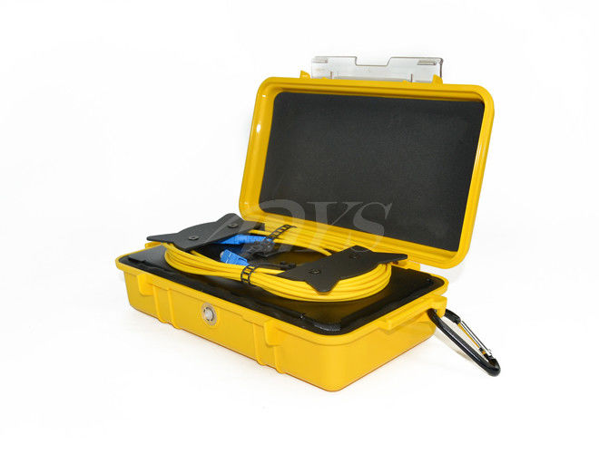 چین Water Resistant Fiber Optic Terminal Boxs , SC-SC OTDR Plastic Launch Cable Box تامین کننده